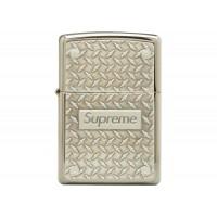 Supreme Zippo Diamond Plate Lighter