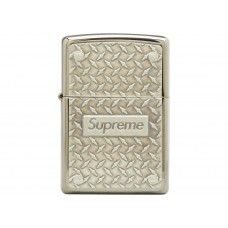 Supreme Zippo Diamond Plate Lighter