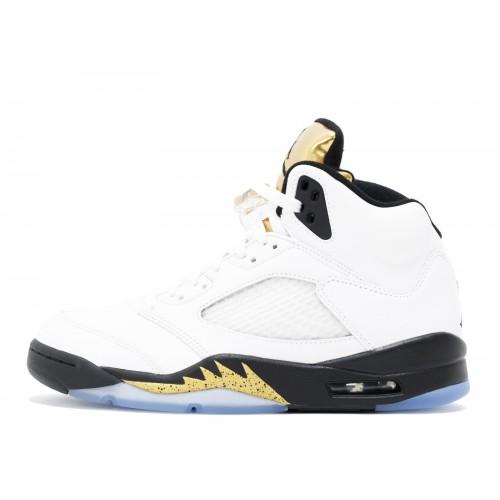 Jordan 5 Gold Tongue