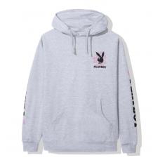 ASSC X Playboy Gray Hoodie