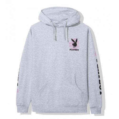 ASSC X Playboy Grey Hoodie