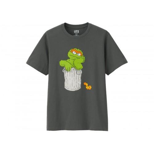 Kaws x Uniqlo Sesame Street Oscar the Grouch