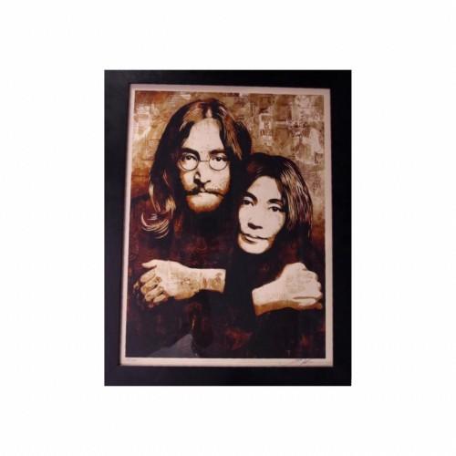 John & Yoko X Obey by Shepard Fairy