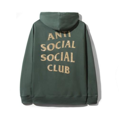 ASSC Green Glitter Logo Hoodie