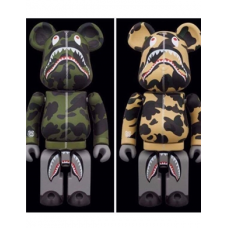 "Be@rbrick x Bape Play 200% ""Steel"""