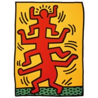 Keith Harring Untitled 1988 Poster