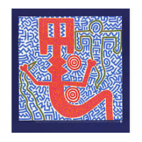 Keith Harring Untitled 1984 Poster