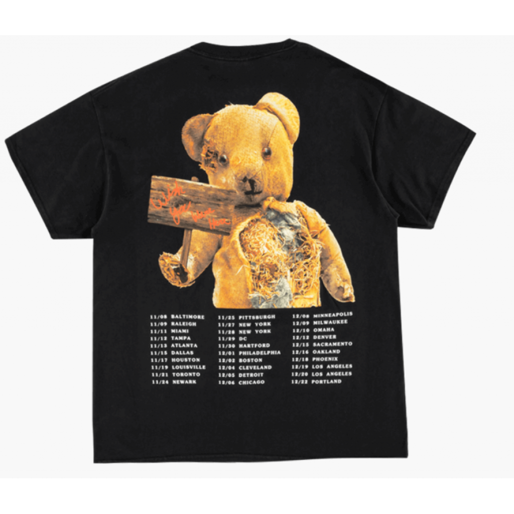 e32d1ca57bd9 Travis Scott Astroworld Tour Bear Tee Travis Scott Astroworld Tour Bear Tee