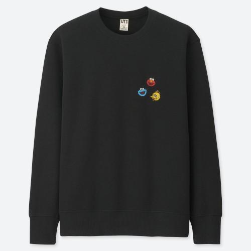 Kaws x Sesame Sweatshirt Black