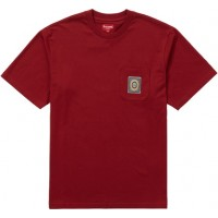 Supreme Crest Label Pocket Tee