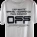 Off White Wavy Lines Logo Tee
