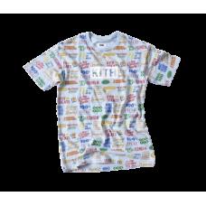 Kith Treats Circular Tee Shirt Light Blue