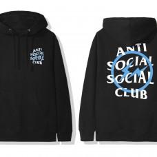Anti Social Social Club X Fragments Blue Logo
