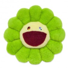 Murakami Green Plush Pillow