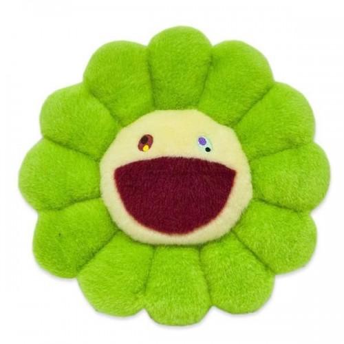 Murakami Green Plush Pillow