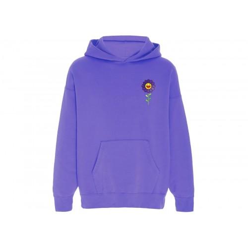 J Balvin Morado x Takashi Murakami Flower Hoodie Purple