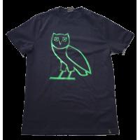 OVO Liquid Metal Green Owl Tee