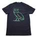 OVO Liquid Metal Green Owl Tee