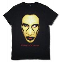 Marilyn Manson Eyes Close Up Tee