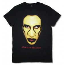Marilyn Manson Eyes Close Up Tee
