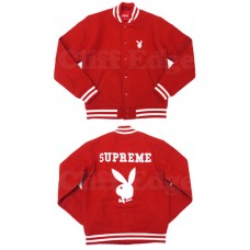 2011 Playboy X Supreme Varsity Jacket