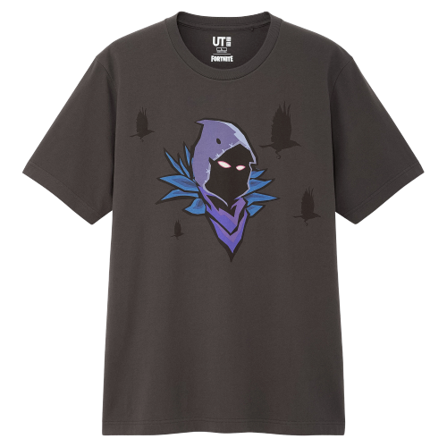 Uniqlo X Fortnite Raven Tee