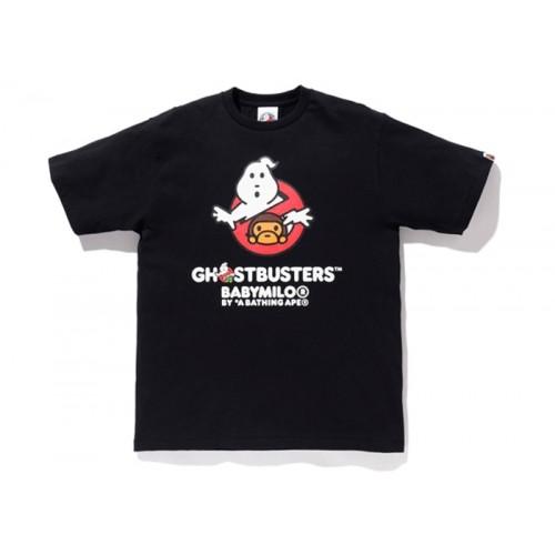 BAPE x Ghostbusters Black Tee