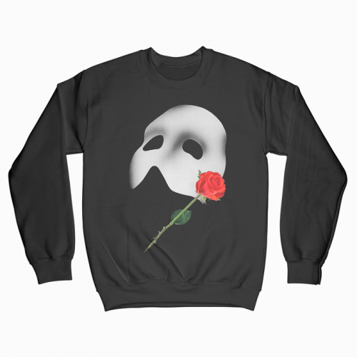 Phantom of the Oprah Crewneck Black