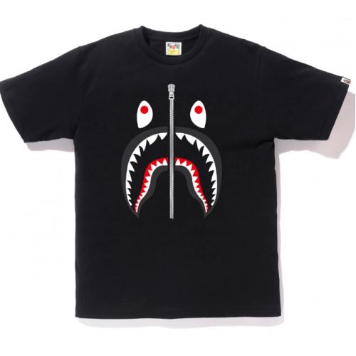 Bape Shark Black T