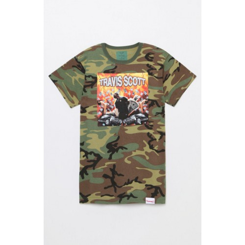 Diamond Supply x Travis Scott Camo Tee