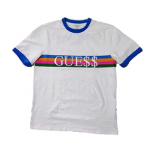 Guess Jeans  x ASAP USA White T