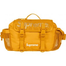 Supreme Mesh Waist Bag Yellow SS20