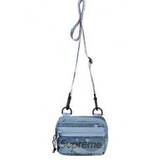 Supreme Mesh Side Bag Blue Camo SS20