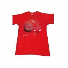 Salem NBA Bulls Red T