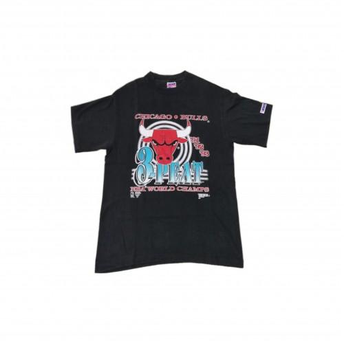 Chicago Bulls Black 3 Peat T