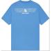 OVO Iridescent Grid Owl T-Shirt Ocean