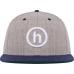 Hidden H Logo Hat Grey/Navy