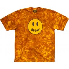 Drew House Mascot Ss Tee Brown Tie Dye