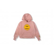 Drew House Mascot Deconstructed Hoodie Rusty Rose