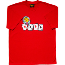 Drew House Lucky You Drew Ss Tee Red