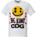 Cactus Plant Flea Market x CDG Smiley Face Be Kind White Tee