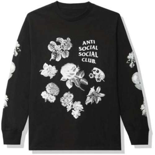 Anti Social Social Club Strange Arrangements Longsleeve Tee Black