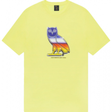 OVO Chrome Owl Yellow Tee