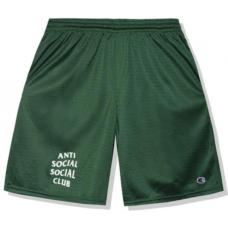 ASSC X Champion Sports Shorts Green
