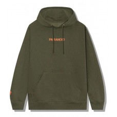ASSC X Undefeated Paranoid Olive Hoodie