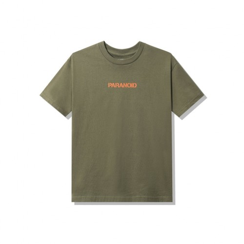 ASSC X Undefeated Paranoid Olive Tee
