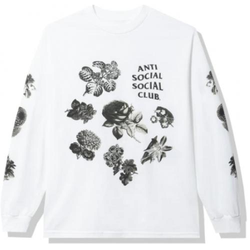 Anti Social Social Club Strange Arrangements Longsleeve Tee White