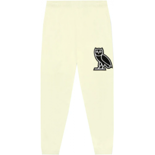 OVO Terry Cloth Sweatpant Cream