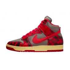 Nike Dunk High 1985 Red Acid Wash