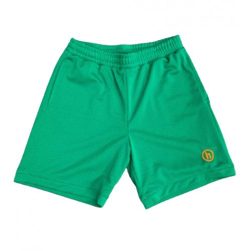Hidden NY Mesh Shorts Kelly Green
